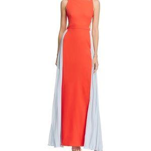 BCBG Max Adria color block gown
